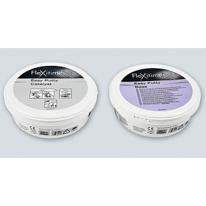 FLEXITIME EASY PUTTY REGULAR BARATT BASE X300ML.+ CATALIZZATORE X300ML.